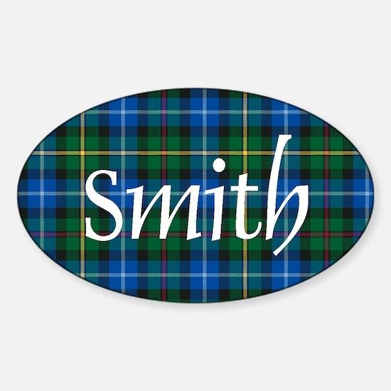 Tartan - Smith Sticker (Oval)