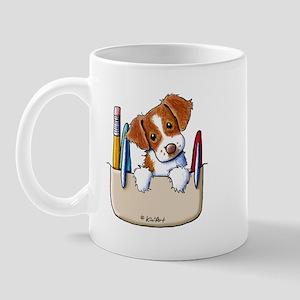 Brittany Pocket Protector Mug