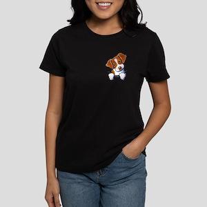 Pocket Brittany Women's Dark T-Shirt
