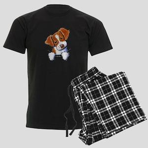Pocket Brittany Men's Dark Pajamas