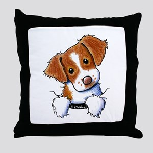 Pocket Brittany Throw Pillow