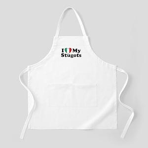 I Love My Stugots BBQ Apron
