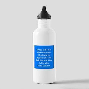 Franz Schubert quote Stainless Water Bottle 1.0L