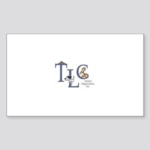 TLC Animal Organization, Inc. Sticker (Rectangle 1