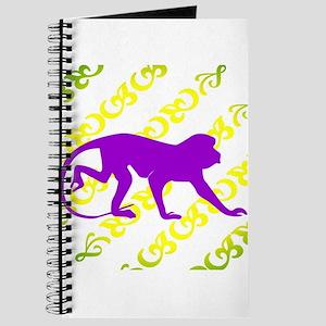 Ancient Purple Monkey Scroll Journal