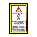 Autism Alert - Adult and Child Occupants (Qty 1)