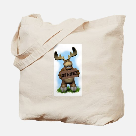 Moose camping Tote Bag