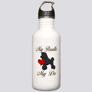 My (Black) Poodle... Stainless Water Bottle 1.0L