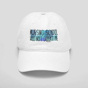 Nursing School will not Defeat Me Cap