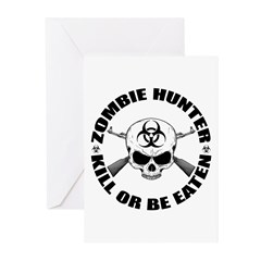 Zombie Hunter 2 Greeting Cards (Pk of 20)