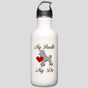 My (White) Poodle... Stainless Water Bottle 1.0L