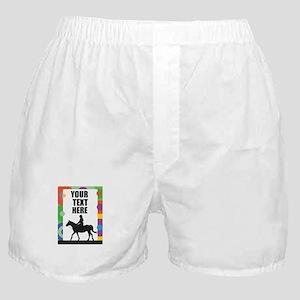 Horse Border Boxer Shorts