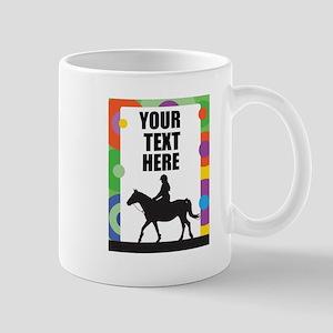 Horse Border Mug