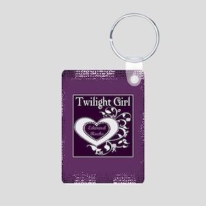 Twilight Girl (Edward) Aluminum Photo Keychain
