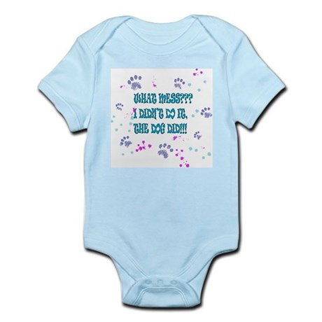 What Mess? Infant Bodysuit