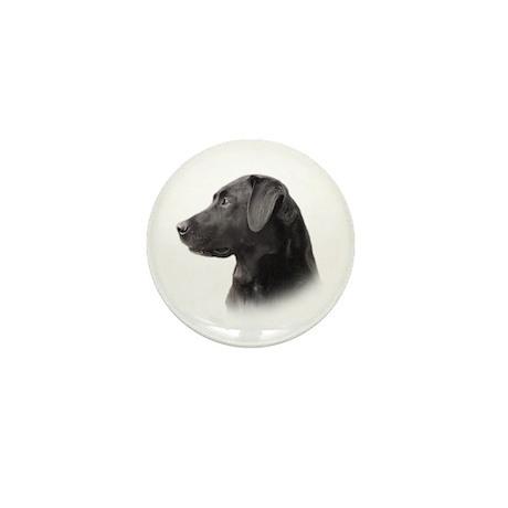 Black Lab Mini Button (100 pack)