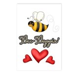 Bee Boppin Bumble Bee Postcards (Package of 8)