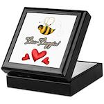 Bee Boppin Bumble Bee Keepsake Box