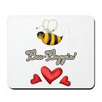 Bee Boppin Bumble Bee Mousepad
