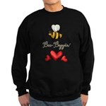 Bee Boppin Bumble Bee Sweatshirt (dark)