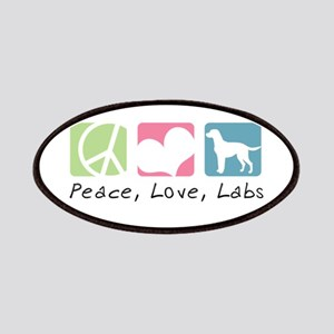 Peace, Love, Labs Patches
