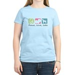 Peace, Love, Labs Women's Light T-Shirt