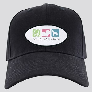 Peace, Love, Labs Black Cap