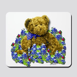 Bluebonnet Bear Mousepad