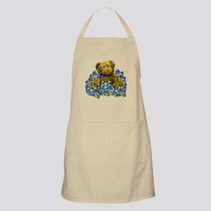 Bluebonnet Bear Apron
