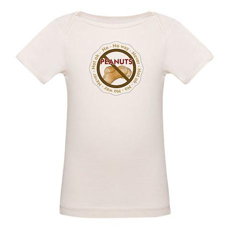 No Way Peanuts Organic Baby T-Shirt