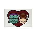 Monster Loves Bride Rectangle Magnet (100 pack)