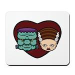 Monster Loves Bride Mousepad