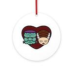 Monster Loves Bride Ornament (Round)