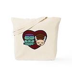 Monster Loves Bride Tote Bag