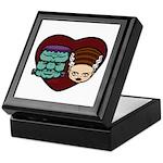 Monster Loves Bride Keepsake Box
