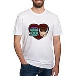 Monster Loves Bride Fitted T-Shirt
