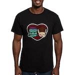 Monster Loves Bride Men's Fitted T-Shirt (dark)