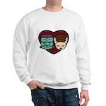 Monster Loves Bride Sweatshirt