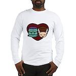 Monster Loves Bride Long Sleeve T-Shirt