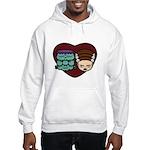 Monster Loves Bride Hooded Sweatshirt
