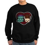 Monster Loves Bride Sweatshirt (dark)