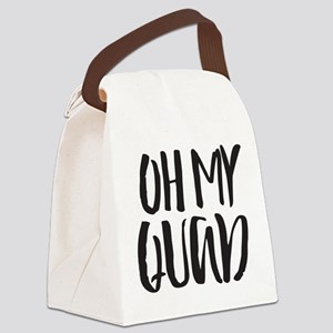 Oh My Quad Canvas Lunch Bag