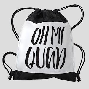 Oh My Quad Drawstring Backpack