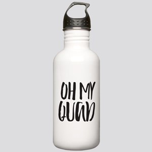 Oh My Quad Stainless Water Bottle 1.0L