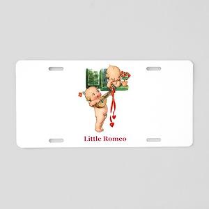 Little Romeo Aluminum License Plate