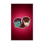 Bride Hates Monster Sticker (Rectangle 50 pk)