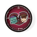 Bride Hates Monster Wall Clock