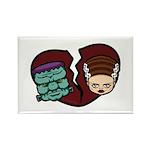 Bride Hates Monster Rectangle Magnet (10 pack)