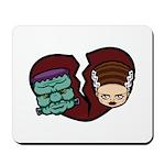 Bride Hates Monster Mousepad