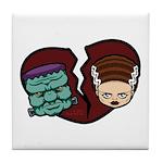 Bride Hates Monster Tile Coaster
